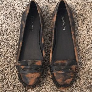 Elizabeth and James penny loafers